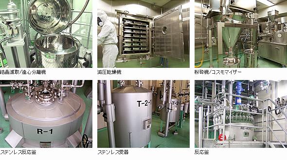 陽進堂-製造主要設備